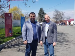 Тимур Кусов и Алексей Волин
