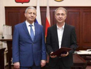 Вячеслав Битаров и Эльбрус Дзабиев