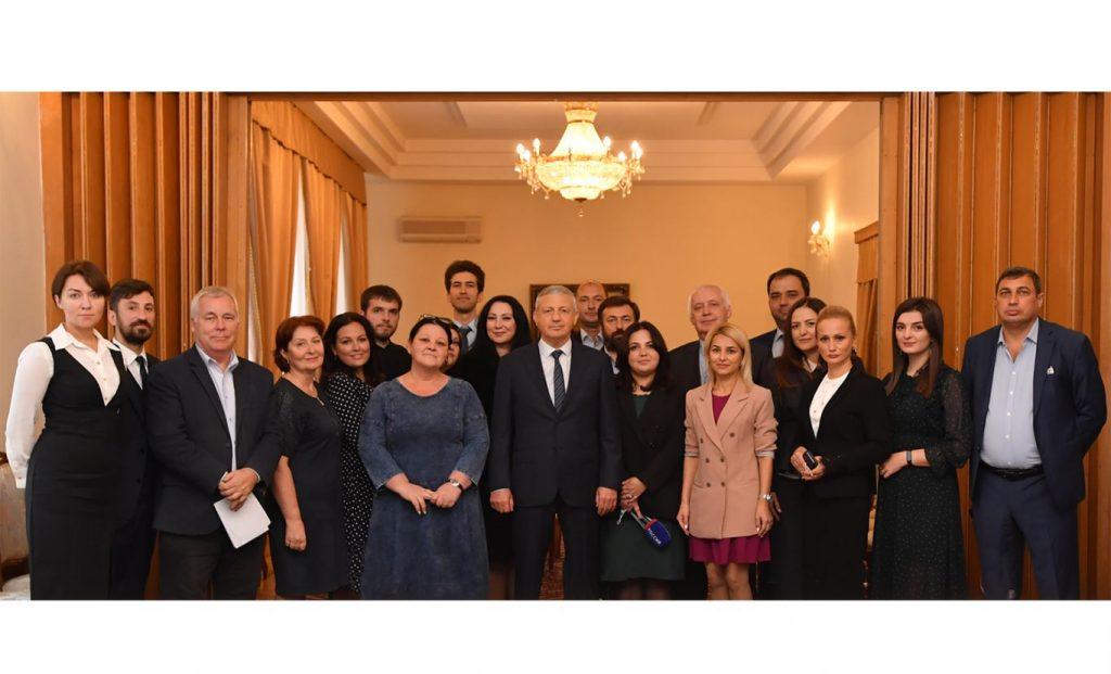 Развитие медиасферы Северной Осетии обсудили на встрече журналистов с Вячеславом Битаровым