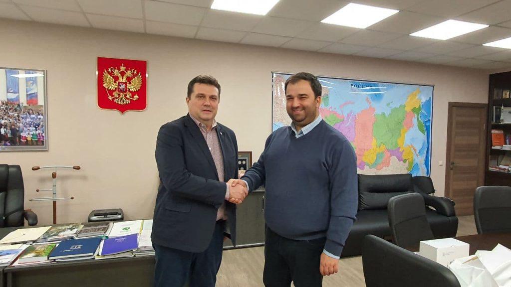 В Москве состоялась рабочая встреча руководителей СЖР и североосетинского отделения