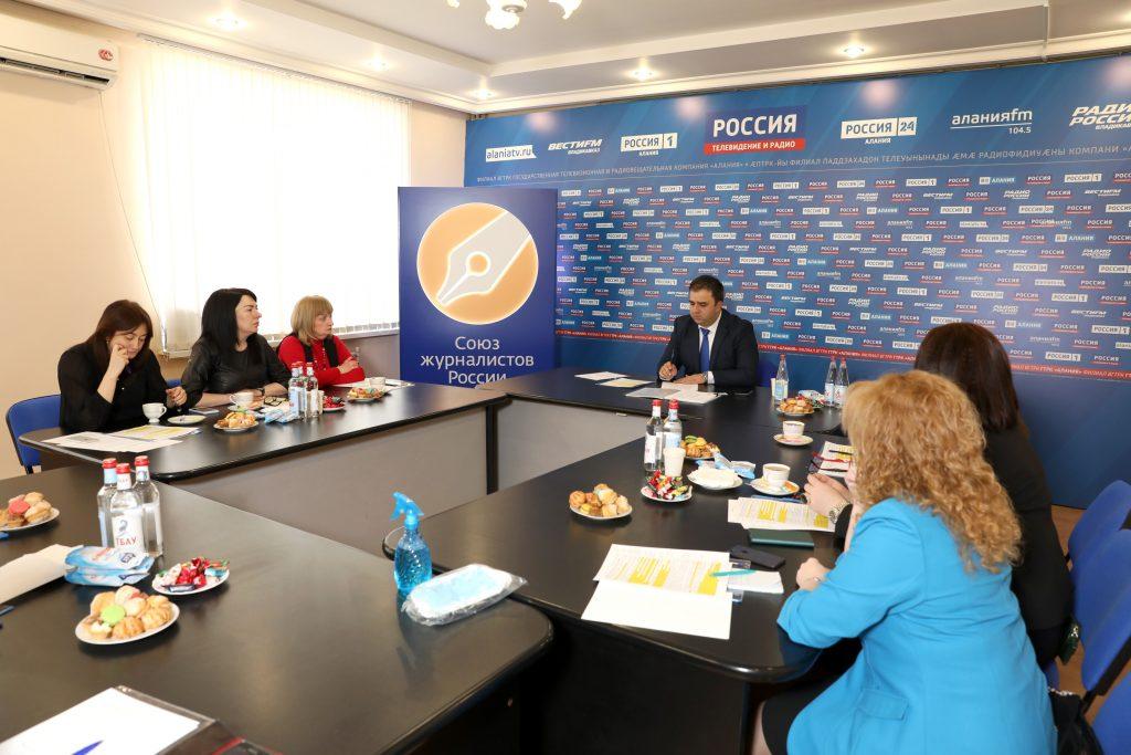 Новое правление Союза журналистов РСО-А: работы будет много