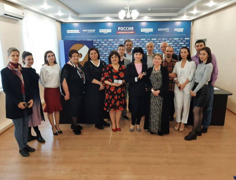 В Союз журналистов России вступили 20 работников медиаотрасли Северной Осетии