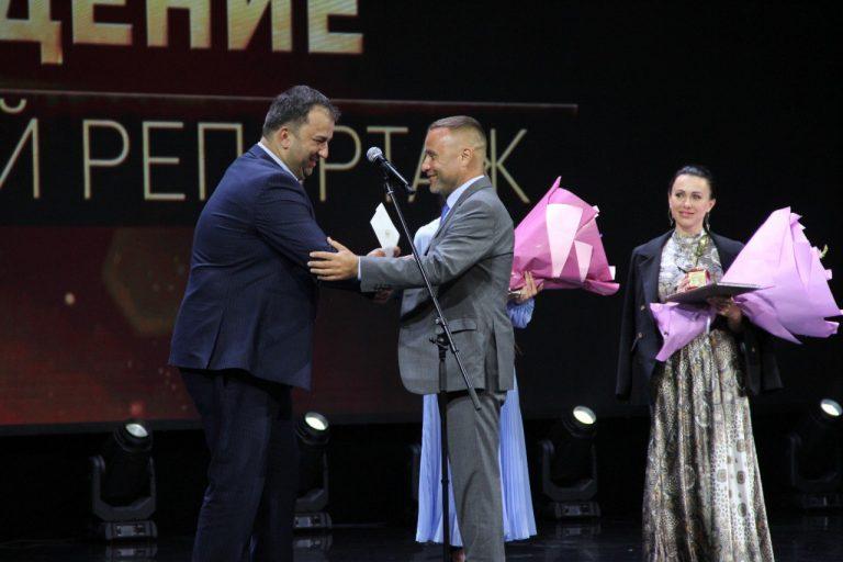 Председатель СЖ РСО-А принял участие в церемонии вручения премии «Золотое перо» в Грозном
