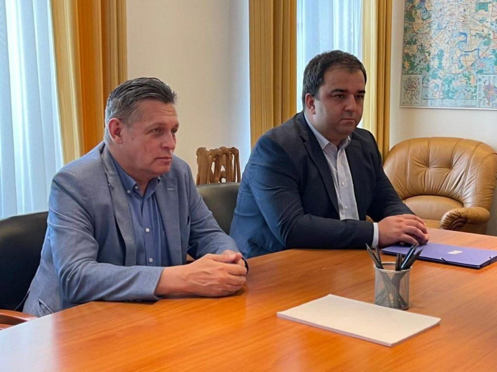 Тимур Кусов принял участие в рабочей встрече Сергея Меняйло с Рифатом Сабитовым